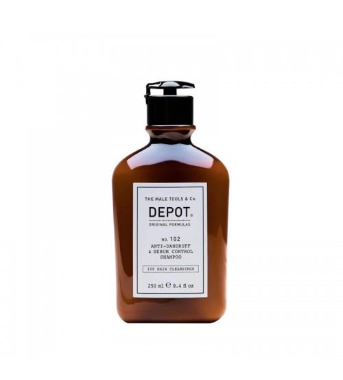 Depot Nº 102 Anti-Dandruff & Sebum Control Shampoo 250ml