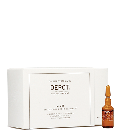 Depot Nº 205 Invigorating Hair Treatment 10x5ml