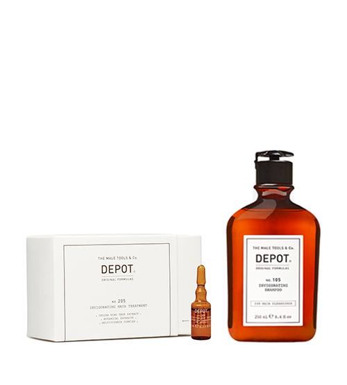 Depot Nº 205 Invigorating Hair Treatment 10x5ml