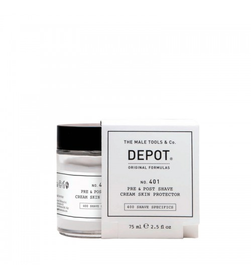 Depot Nº 401 Pre & Post Shave Cream Skin Protector 75ml