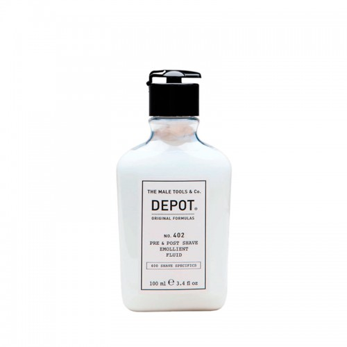 Depot Nº 402 Pre & Post Shave Emollient Fluid 100ml