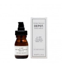 Depot Nº 403 Pre-shave & Softening Beard Oil Fresh Black Pepper 30ml