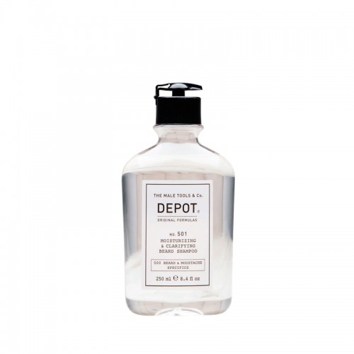 Depot Nº 501 Moisturizing & Clarifying Beard Shampoo 250ml