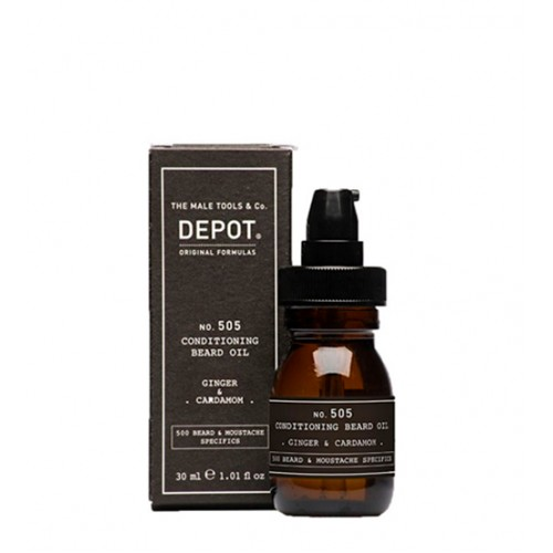 Depot Nº 505 Conditioning Beard Oil Ginger & Cardamom 30ml