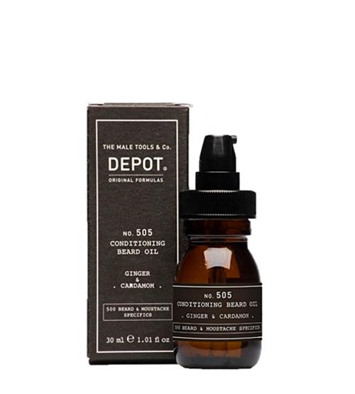 Depot Nº 505 Conditioning Beard Oil Ginger & Cardamom 30ml