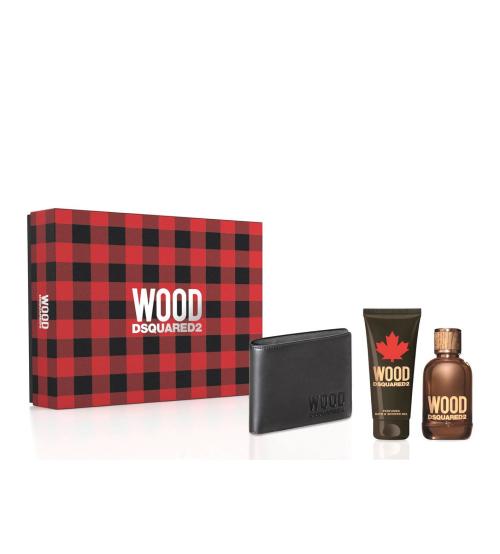 Dsquared2 Wood Pour Homme Coffret Eau de Toilette 100ml