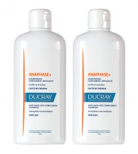 Ducray Anaphase+ Shampoo Complemento Antiqueda 2x400ml