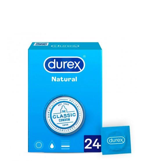 Durex Natural Plus 24 Preservativos