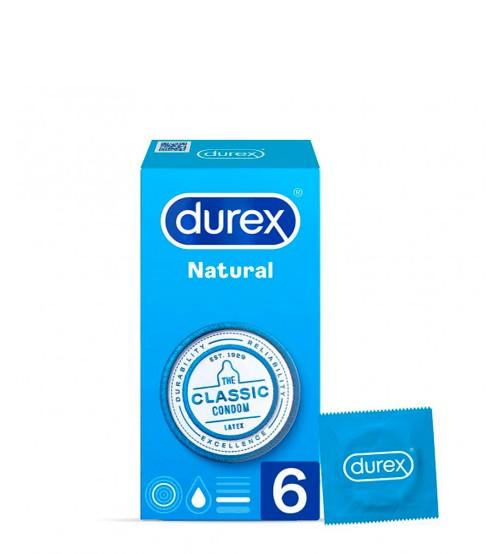Durex Natural Plus 6 Preservativos