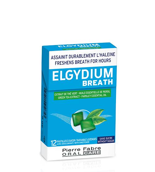 Elgydium Breath Pastilhas 12 Unidades