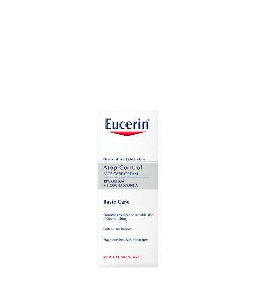 Eucerin AtopiControl Creme de Rosto Dry Irritable Skin 50ml