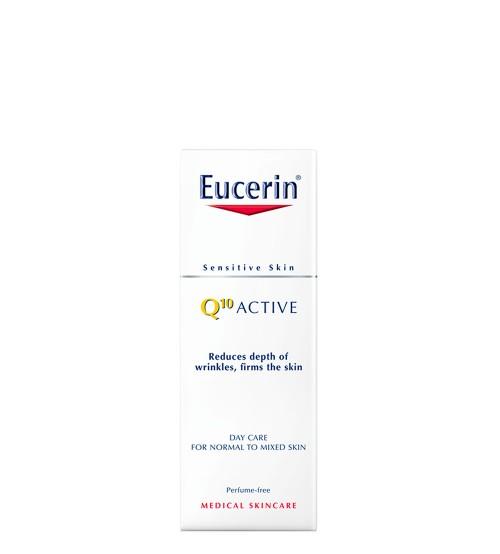 Eucerin Q10 Active Creme de Dia Anti-Rugas Pele Normal a Mista 50ml