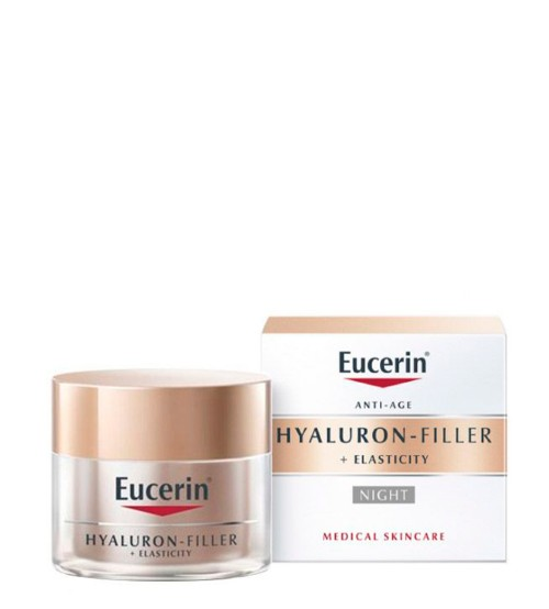 Eucerin Hyaluron-Filler + Elasticity Creme de Noite 50ml