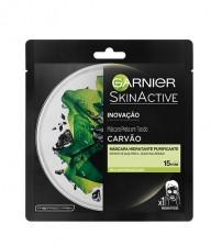 Garnier Máscara de Tecido Purificante Alga Negra 28g