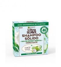 Garnier Ultra Suave Shampoo Sólido Coco & Aloe Vera 60g