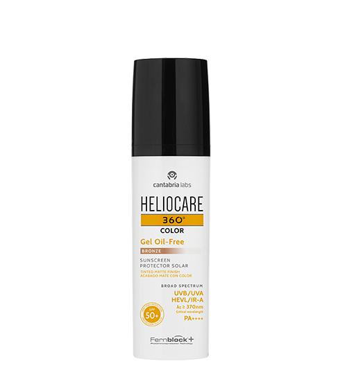 Heliocare 360º Color Gel Oil-Free Bronze SPF50+ 50ml