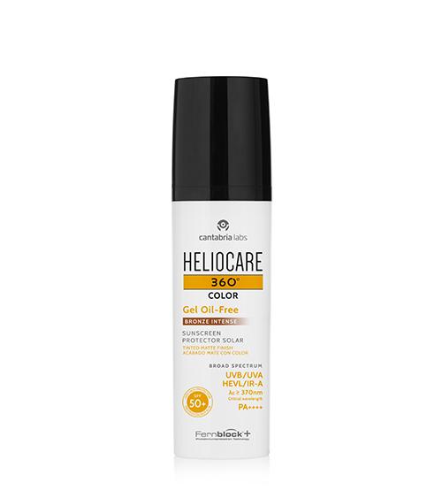 Heliocare 360º Color Gel Oil-Free Bronze Intense SPF50+ 50ml