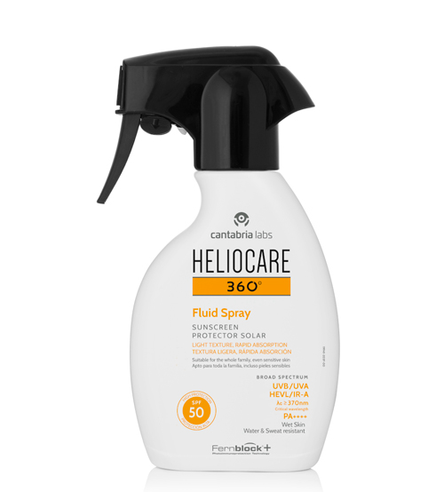 Heliocare 360º Fluid Spray Protetor Solar SPF50 250ml