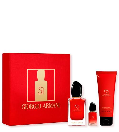 Armani Si Passione Coffret Eau de Parfum 50ml