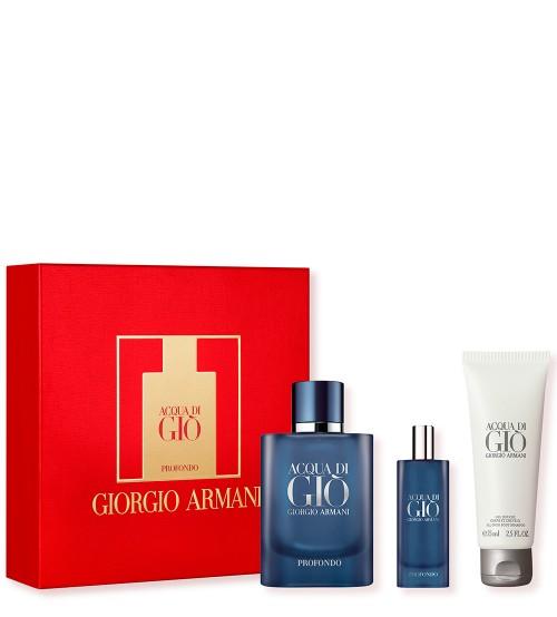 Armani Acqua di Gio Profondo Coffret Eau de Parfum 75ml