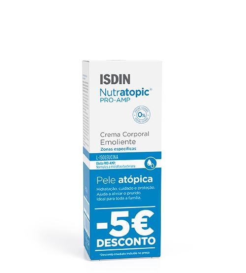 ISDIN Nutratopic Pro-Amp Creme Emoliente Preço Especial 200ml