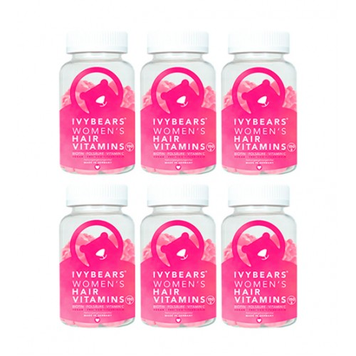 Ivybears Hair Vitamins For Women 6 Meses