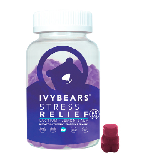 Ivybears Stress Relief 60 Gomas