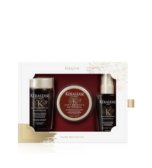 Kerastase Aura Botánica Holiday Travel Size Kit