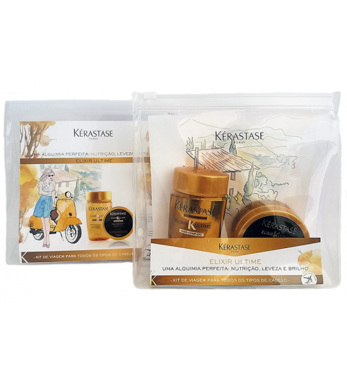 Kerastase Kit Elixir Ultime Travel Size