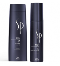 Wella Sp Men Silver Defined Structure Kit