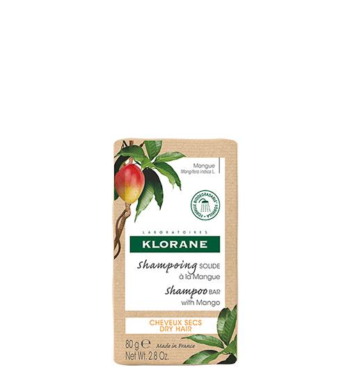 Klorane Shampoo Sólido Com Manga BIO 80g