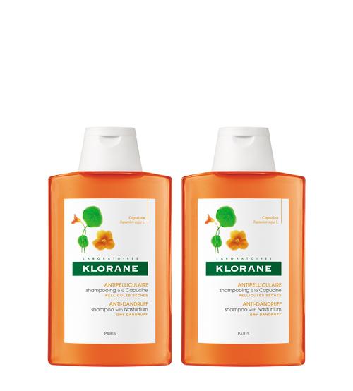 Klorane Capilar Shampoo Capuchinha 2x200ml