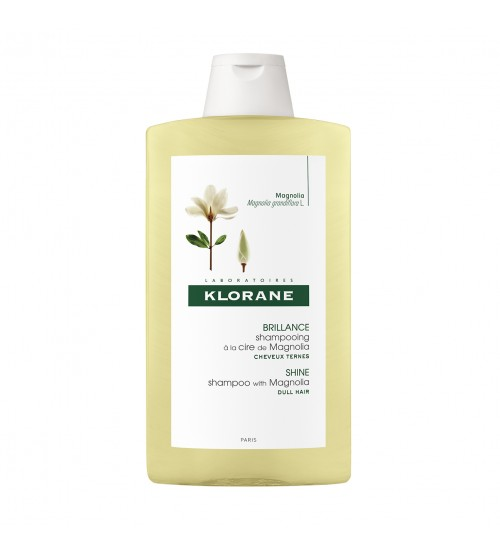 Klorane Capilar Shampoo Cera de Magnólia 400ml