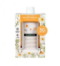 Klorane Capilar Shampoo Camomila 2x400ml