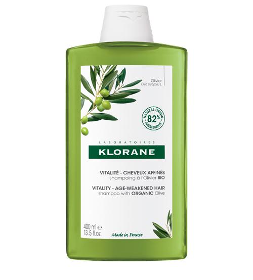 Klorane Capilar Shampoo Essência de Oliveira BIO 400ml