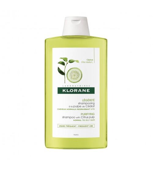 Klorane Capilar Shampoo Polpa de Cidra 400ml
