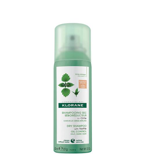 Klorane Shampoo Seco Ortiga Cabelo Castanho 50ml