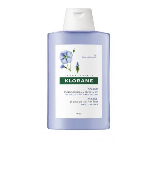 Klorane Capilar Shampoo Fibras de Linho 200ml
