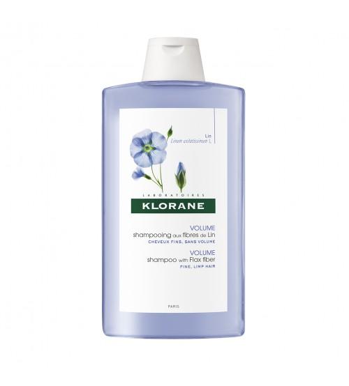Klorane Capilar Shampoo Fibras de Linho 400ml