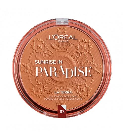 L'Oréal Paris Glam Bronze La Terra 03 Amalfi Medio 18g