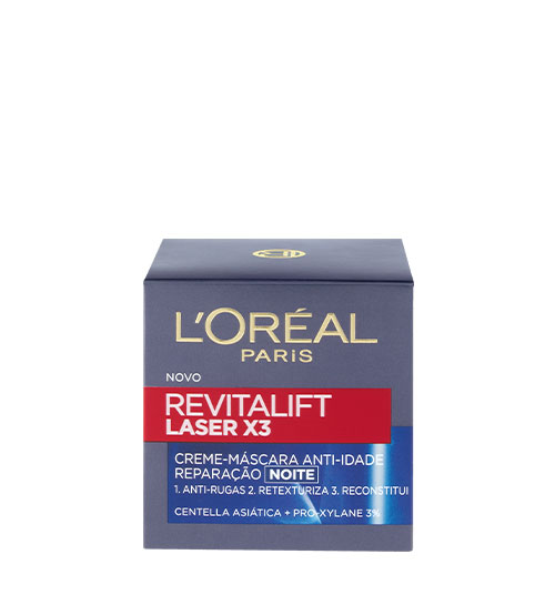 L'Oréal Revitalift Laser Creme de Noite X3 50ml