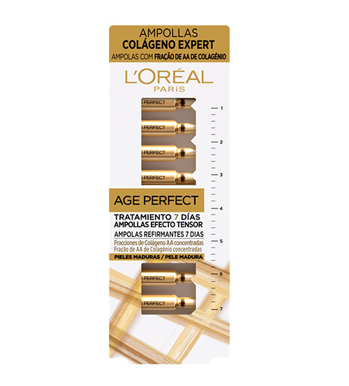 L'Oréal Age Perfect Ampolas 7x1ml