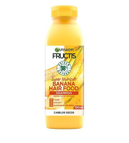 Garnier Fructis Hair Food Shampoo Banana 350ml