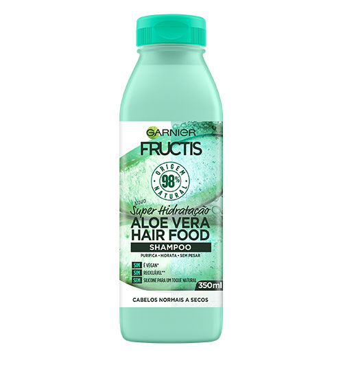 Garnier Fructis Hair Food Shampoo Aloe Vera 350ml