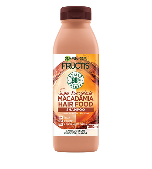 Garnier Fructis Hair Food Shampoo Macadâmia 350ml