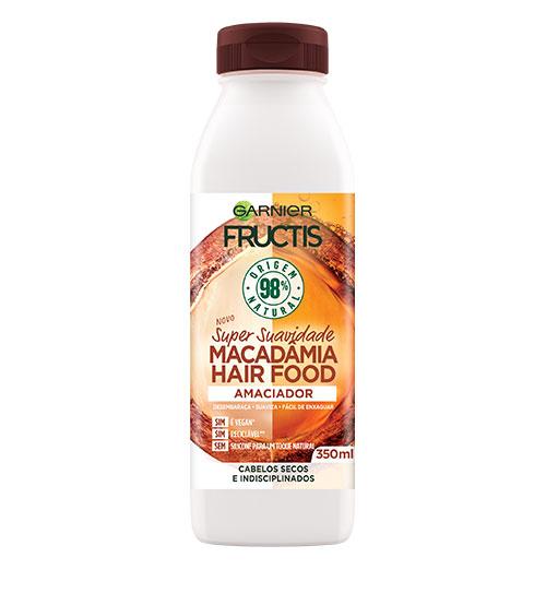 Garnier Fructis Hair Food Condicionador Macadâmia 350ml