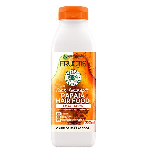 Garnier Fructis Hair Food Condicionador Papaia 350ml