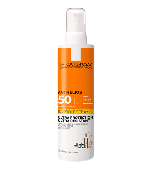 La Roche-Posay Anthelios Spray Invisível SPF50+ 200ml