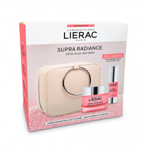 Lierac Coffret Supra Radiance Pele Normal a Seca
