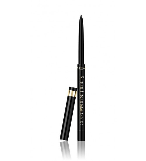 L'Oréal Superliner Eyeliner Perfect Slim Mat-Matic Preto